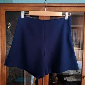 Opening Ceremony blue crepe shorts